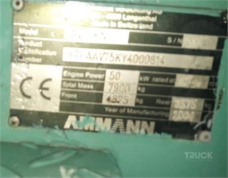 AMMANN AV75K