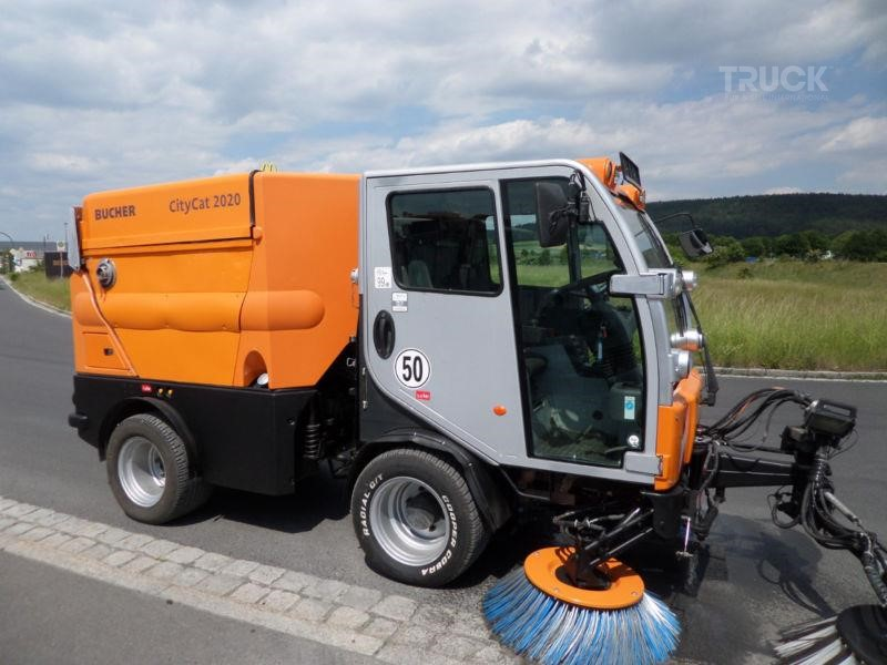Bucher CITYCAT 2020 Refuse Truck & Sweeping Machine Used by TBSI