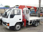 1988 Mitsubishi Canter Crane Truck