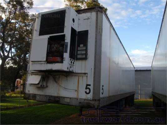 1989 Maxi Cube Refrigerated Van Trailer Coast to Coast Sales & Hire - Trailers for Sale