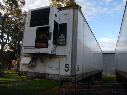 1989 Maxi Cube Refrigerated Van Trailer - Trailers for Sale