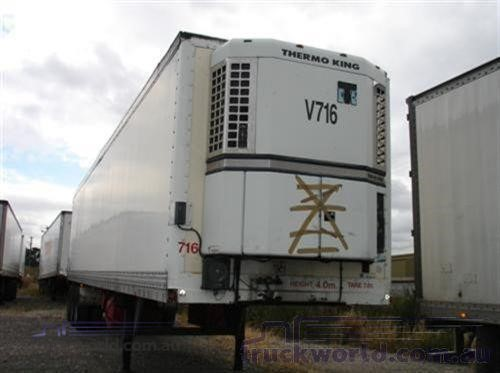 1990 Maxi Cube Refrigerated Van Trailer - Trailers for Sale