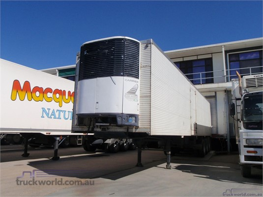 1987 Freighter Refrigerated Van Trailer Coast to Coast Sales & Hire - Trailers for Sale