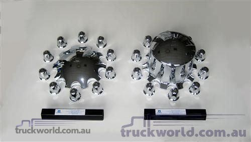 Accessories & Truck Parts Alcoa Hub & Nut Cover Set - Parts & Accessories for Sale
