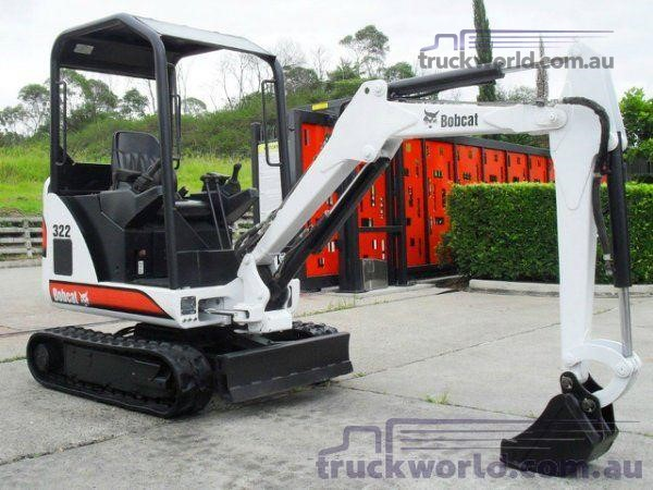 1950 Bobcat 322 Excavators heavy machinery for sale Southern