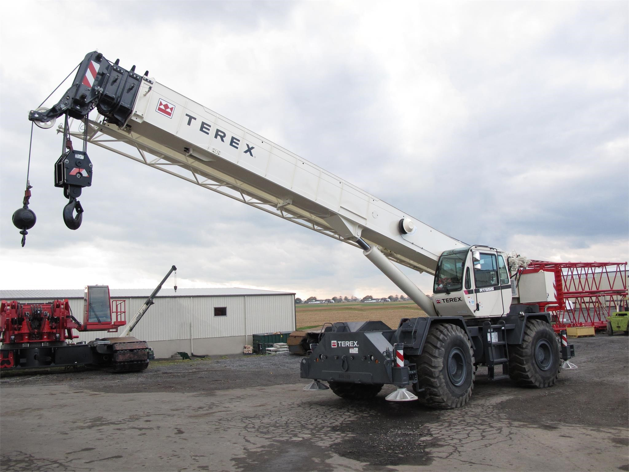 2016 TEREX RT555-1 For Sale in Albany, New York