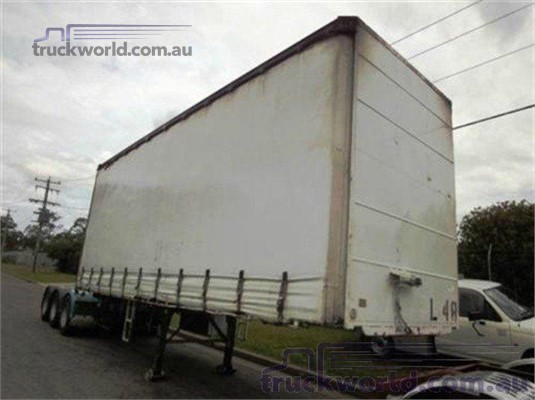 1997 Barker Curtainsider Trailer Coast to Coast Sales & Hire - Trailers for Sale