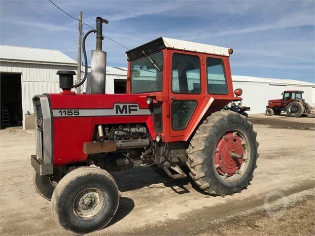 1976 MASSEY-FERGUSON 1155 For Sale In Wesley, Iowa