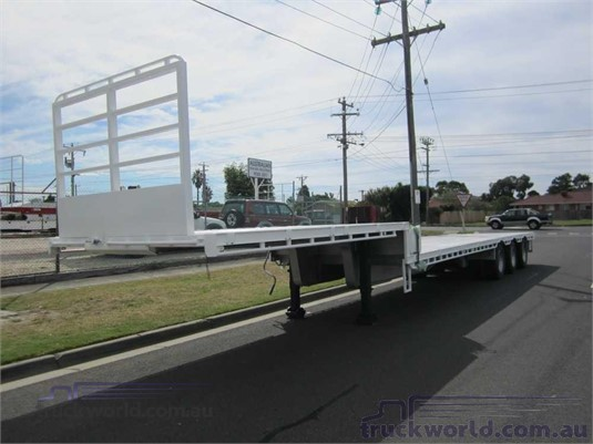 2005 Vawdrey Drop Deck Trailer Trailers for Sale