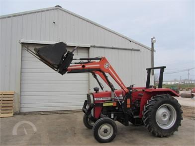 MASSEY-FERGUSON Tractors Online Auction Results - 595 Listings