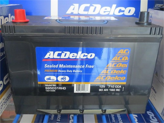 0 Ac Delco Sealed Truck Battery - Parts & Accessories for Sale