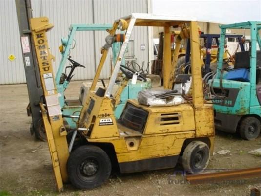Komatsu - Dealer Used Heavy Machinery, Forklift, Wrecking