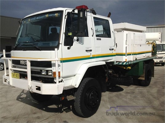 1993 Isuzu FTS 12H 4x4 Trucks for Sale