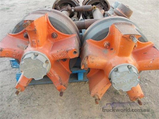 0 York 5 Spoke Trailer AxleS - Parts & Accessories for Sale