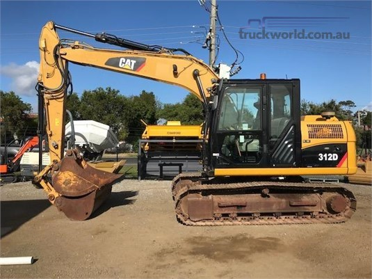 2010 Caterpillar 312D Heavy Machinery for Sale