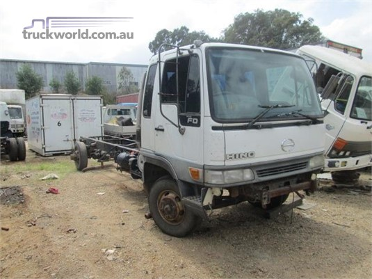 2001 Hino FD1J - Wrecking for Sale