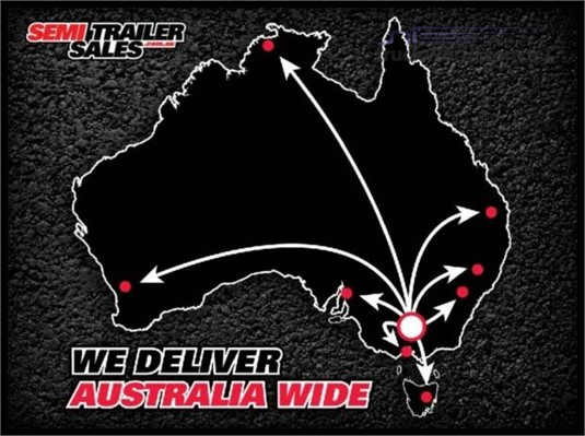 Semi Trailer Sales Rear Turning Signs - Truckworld.com.au - Parts & Accessories for Sale