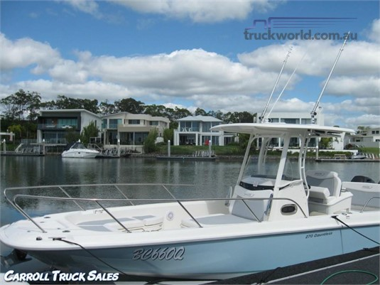 2016 Boston Whaler 270 Dautless Carroll Truck Sales Queensland - Light Commercial for Sale