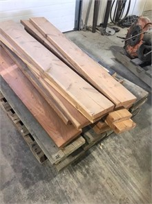 MISC CEDAR LUMBER Other Auction Results - 1 Listings