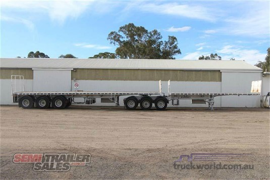 2010 Vawdrey B Double Flat Top Trailers - Trailers for Sale