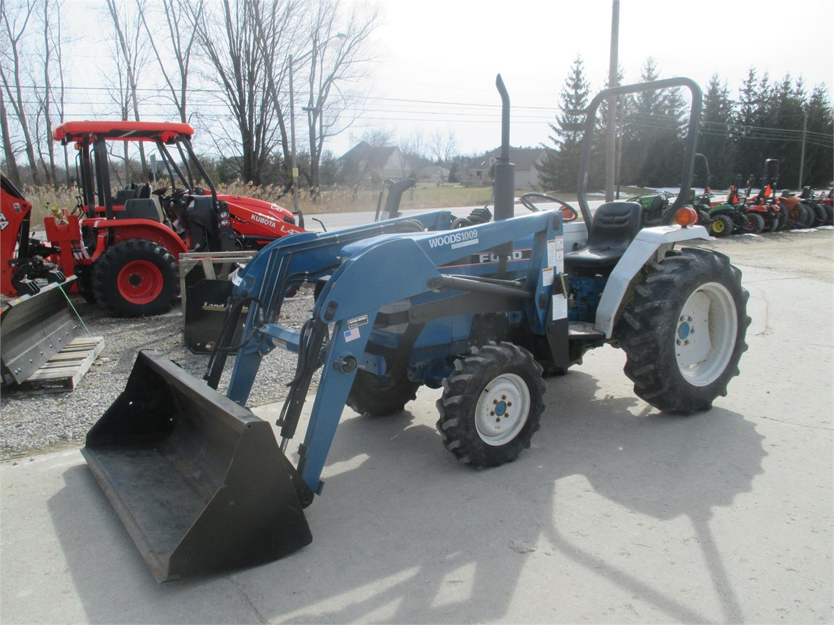 1992 New Holland 1715 For Sale In Dryden Michigan Www