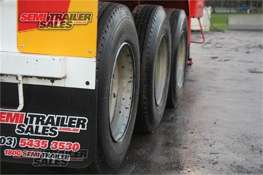 1996 Krueger Tipping Skel with Blower Kit Semi Trailer Sales - Trailers for Sale