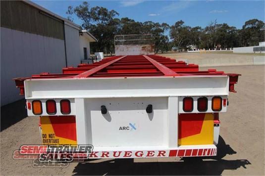 2006 Krueger 40FT Skel Semi Trailer Semi Trailer Sales - Trailers for Sale