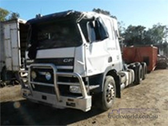 2005 DAF CF85 - Wrecking for Sale