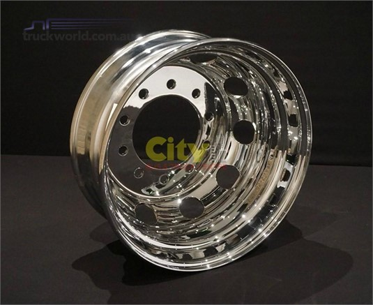 0 Rims 10/285 8.25x22.5 Chrome Steel Drive Rims - Parts & Accessories for Sale
