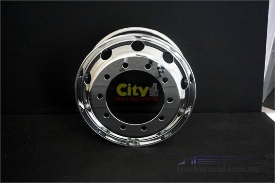 Rims 10/335 8.25x22.5 Mirror Finish Chrome Alloy Rim - Truckworld.com.au - Parts & Accessories for Sale