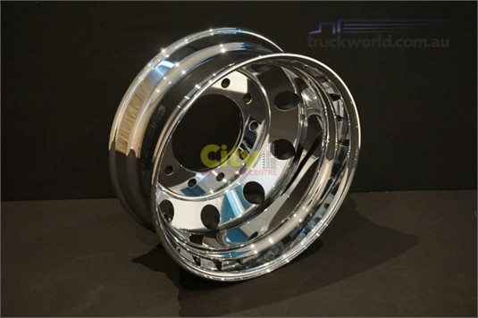0 Rims 10/285 8.25x22.5 Mirror Finish Chrome Alloy Rim Parts & Accessories for Sale