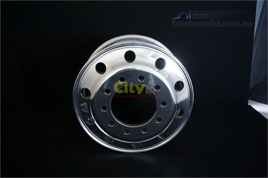 0 Alloy Rims 10/285 8.25x22.5 Alcoa Durabright Alloy Steer Rim - Truckworld.com.au - Parts & Accessories for Sale