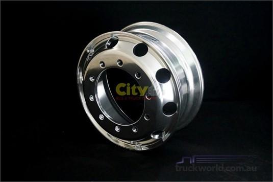 0 Alloy Rims 10/335 8.25x22.5 Alcoa Durabright Alloy Rim - Truckworld.com.au - Parts & Accessories for Sale