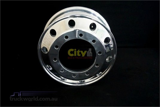 0 Alloy Rims 10/335 8.25x22.5 Polished Steer Alloy Rim - Truckworld.com.au - Parts & Accessories for Sale