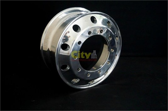 0 Alloy Rims 10/335 8.25x22.5 Polished Steer Alloy Rim - Parts & Accessories for Sale