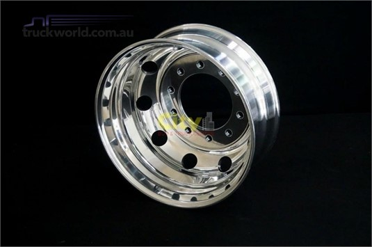 0 Alloy Rims 10/285 8.25x22.5 Polished Drive Alloy Rim - Truckworld.com.au - Parts & Accessories for Sale