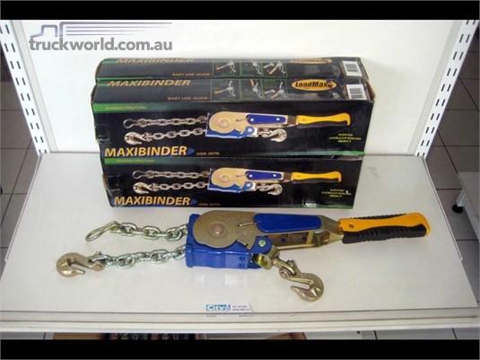 Maxibinder Ratchet Load Restraints with Hook - Truckworld.com.au - Parts & Accessories for Sale