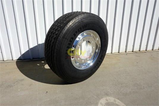 0 Alloy Rims 10/335 11.75x22.5 Super Single Rim Tyre Package - Parts & Accessories for Sale