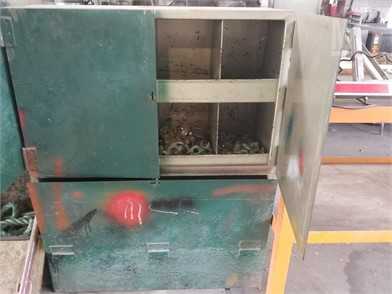 Metal Shop Shelf W/ Misc Fittings Other Auction Results - 1