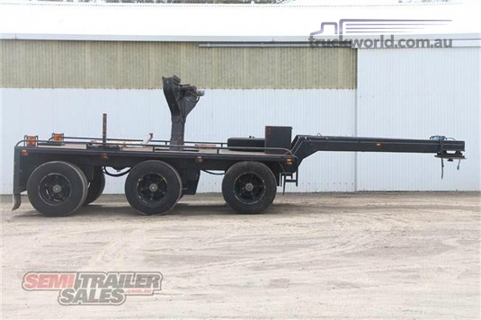 1997 Sfm Engineering Dolly Jinker with Centre Mount Crane Trailers for Sale
