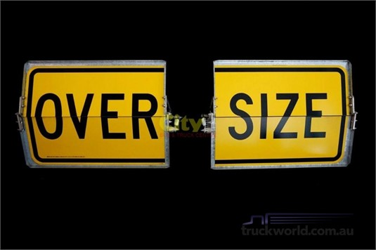 0 Accessories & Trailer Parts Oversize Sign - Parts & Accessories for Sale