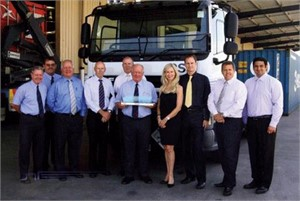 DAF and Container Swinglift Services celebrate 2,000th milestone