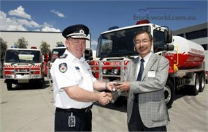 Hino strengthens NSW Fire Fighting ranks