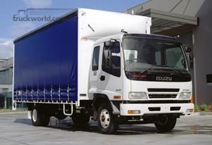 ISUZU Ready For Work With BUILT-UP Trucks