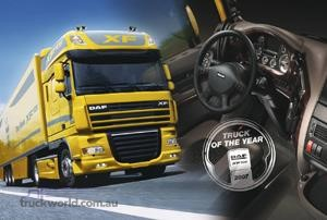 DAF XF105 Voted 'International Truck of the Year 2007'
