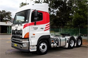Hino launches heavy duty truck with AMT