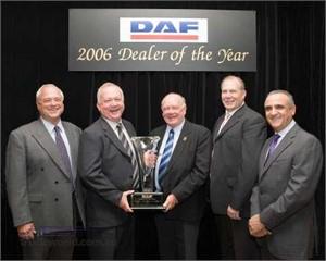 2006 DAF Dealer of the Year