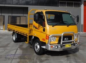 Hyundai premiers at the 2011 Brisbane Truck Show