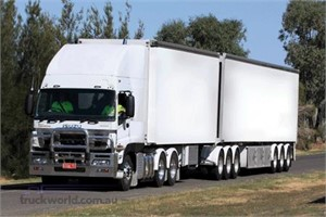 New heavy duty Isuzu Gigas go lighter on fuel