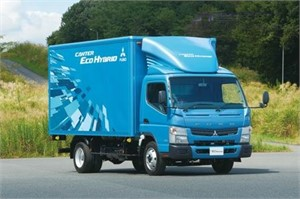New FUSO Canter Eco-Hybrid on display at Melbourne!